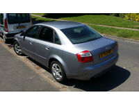 Audi A4 - 2004 - 2.0 SE - MOT 14/04/17 - No Advisories