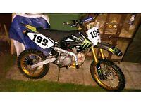 180cc stomp bike