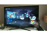 "Samsung 46"" smart full HD 3D wireless TV with glasses"