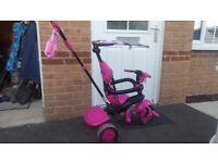 Pink 3 in 1 SmartTrike