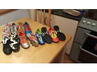 Boys football shoes bundle size 2 and 3