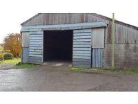 Secure indoor caravan / vehicle storage