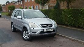 HONDA CR-V EXECUTIVE ++AUTOMATIC++1 LADY OWNER++F/S/H++12 MONTHS MOT++FULL LEATHER INTERIOR++AUTO++