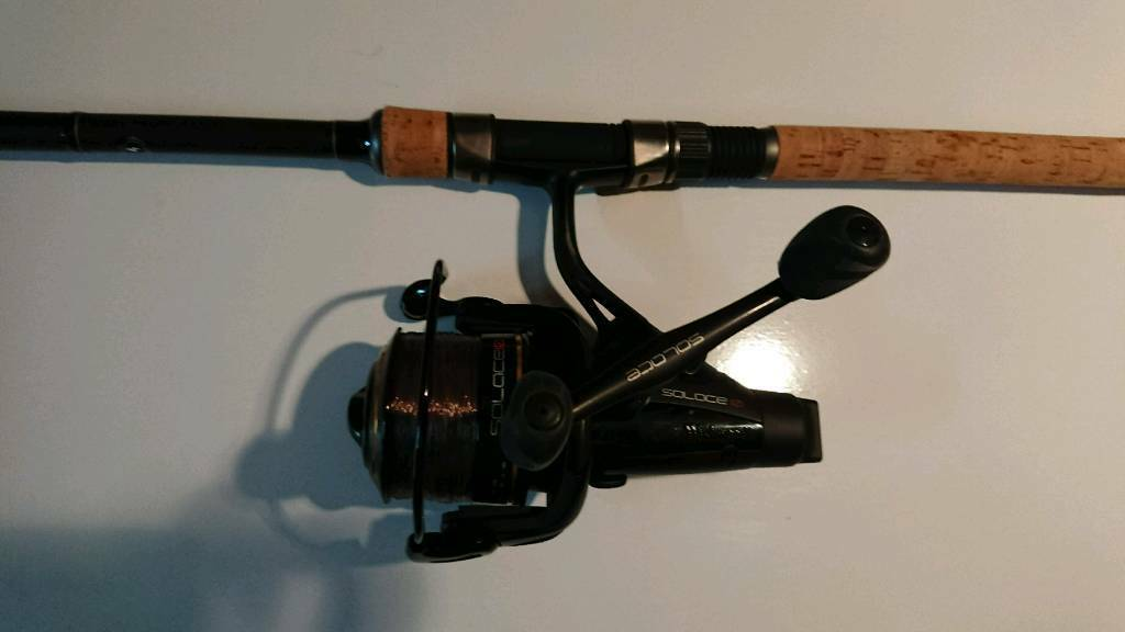 Wychwood solace carp/ pike rod and reel