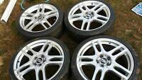 "19"" 5 bolt rims fit colbolt, g5, grand am"