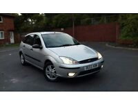 Ford focus 5dr 1.8TDDI zetec diesel in mint condition long tax&mot hpi clear