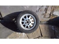 Alloy wheels x4 for bmw for sale good tyres on all 4