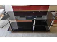 Glass tv unit / coffee table