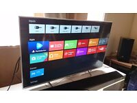 "SONY 49"" SUPER Smart 4K ULTRA HD ANDROID TV(KD-49X8307),built in Wifi,Freeview HD & YOUVIEW"