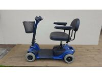 Blue Pride Prism Mobility Scooter