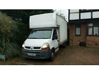 Renault Master Luton 2005y with tail lift