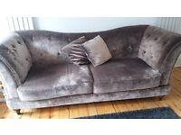 Velvet 3-Seater couch