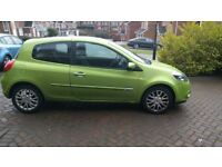 2012 MK3 PH2 1.2 TCE RENAULT CLIO DYNAMIQUE BREAKING LIME GREEN