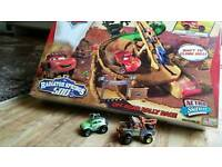 Disney Cars Radiator Springs 500 Off - Road Rally Race includes Extras