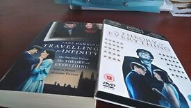 The theory of everything , DVD + paperback story of Stephen Hawking