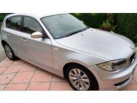 08 BMW 116i 12 month MOT, full service, start/stop