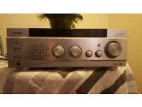 AIWA audio amp and Gale bookshelf speakers for sale