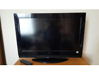 32-inch HD ready Hitachi TV with remote control