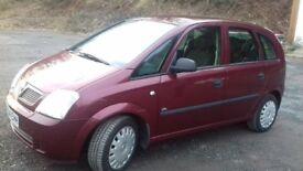 2004 Vauxhall Meriva Life 1.6i.