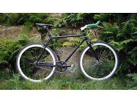 Single Speed/fixie road bike, 52cm