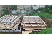 Free wooden pallets for collection x16