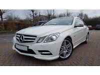 2012 MERCEDES E220 COUPE BlueEFFICIENCY SPORT WITH FULL MERCEDES SERVICE HISTORY