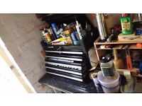 Tool chest x two. 5 drawer plus top compartment + keys, Plus a 2 drawer extra chest + keys.