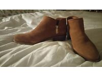 Brand New Pull&Bear almond toe ankle boots size 5