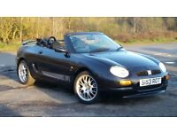 1998 MGF convertible 1.8 petrol 67k miles Graphite Grey 5 speed manual 5 months MOT new head gasket