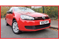 (Auto 61000 Miles)- 2012 Volkswagen Golf 1.4 TSi Match DSG -- Automatic --Low Mileage --Clean in out