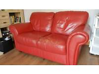2 seater leather sofa FREE