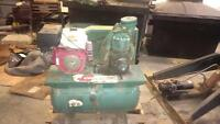 honda gas air compressor with electric start