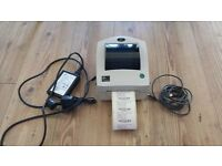 Zebra LP2844Z Thermal label printer with psu and usb cable.