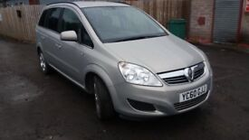 2011 Zafira Exclusiv Cdti 6-speed, 31k miles ONLY, 7 seats, FSH, NEW MOT, front and rear PARKING AID