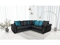 *** EXPRESS DELIVERY *** BRAND NEW ''G SHANNON'' CORNER SOFA ON SPECIAL OFFER