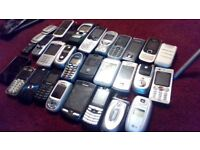 26 various mobile phones not all working spares/repairs