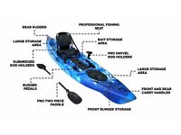 Bluefin Kingfisher Specialist Sea Fishing Kayak only £450.00