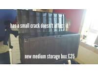 New outdoor storage box