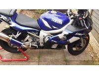 Yamaha r6 low milage