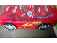 Lightning McQueen bed frame