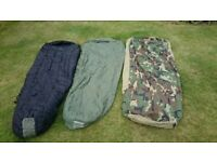 US Army Modular sleeping bag for sale 4 piece set