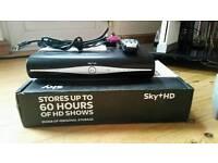 Sky + box 250gb and sky hub