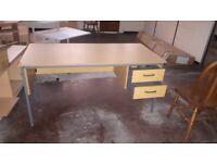2 drawer large office desk