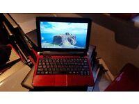 acer aspire one kav10 notebook windows 7 ultimate 2g memory 160g hard drive webcam wifi