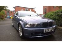 2002 BMW 318 ci, M.O.T til December, great condition for age, tinted windows, lowered