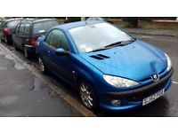 Peugeot 206cc for sale