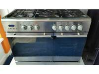 Beaumatic dual fuel range cooker for sale. Free local delivery