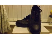 Gents Steel Toe Cap (black Shoes) size 10. Brand New