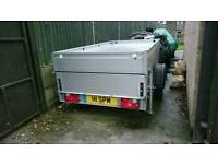 anssems GT750 lockable hard top camping trailer