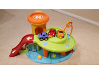 Early Learning Centre (ELC) Whizz Around Garage Toy with 3 Cars